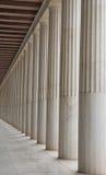 Altes Agora in Athen Lizenzfreies Stockbild