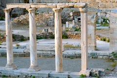 Altes Agora von Athen Stockbild