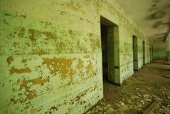 Altes anbandoned Gebäude Stockbilder