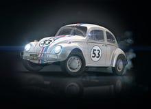 Altes Antrieb-Auto Lizenzfreies Stockfoto