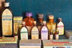 Altes Apothekenmuseum Lizenzfreies Stockfoto