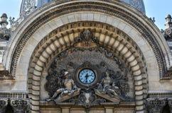 Altes Architektursonderkommando von CEC Bank im Stadtzentrum gelegenes Bukarest stockfotos
