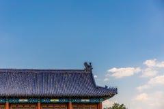 Altes architurectureï ¼ Œbeijing-Porzellan stockfotografie