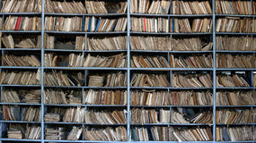 Altes Archiv Lizenzfreie Stockbilder