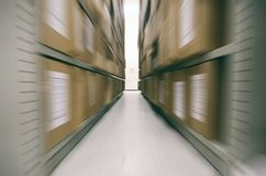 Altes Archiv, alte Archivdateien, ArchivLagerraum Lizenzfreies Stockfoto