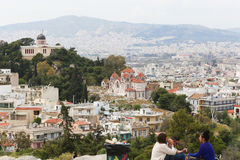 Altes Athen Lizenzfreie Stockbilder