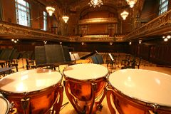 Altes Auditorium Stockbild