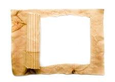 Altes aufgerissenes Papier Stockbild