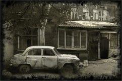 Altes Auto Lizenzfreie Stockfotos