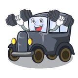 Altes Auto der Eignung im Formcharakter lizenzfreie abbildung