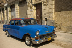 Altes Auto, Havana, Kuba Stockbild