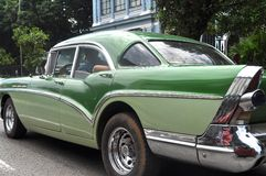 Altes Auto in Havana, Kuba Stockbild