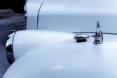 Altes Autodetail Stockfoto