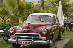 Altes Automobil Chevrolet-Belair Stockfoto