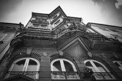 Altes bürgerliches Haus Stockfotos
