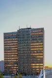 Altes Bürohaus Stockfotos