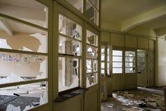 Altes Bürohaus Stockbild