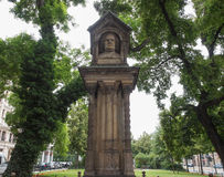 Altes Bach Denkmal Royalty Free Stock Photography