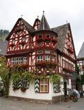 altes bacharach σπίτι haus της Γερμανίας πα&l Στοκ εικόνα με δικαίωμα ελεύθερης χρήσης
