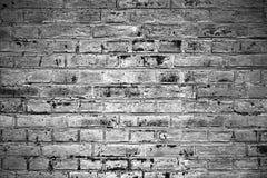 Altes Backsteinmauergrau Stockbilder