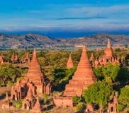 Altes Bagan in Bagan-Nyaung U, Myanmar Stockfoto