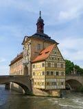 altes bamberg rathaus Стоковые Изображения