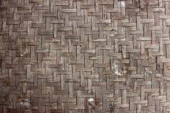Altes Bambusmuster Stockbild