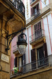 Altes Barcelona Stockbild