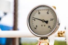 Altes Barometer Stockfotografie