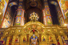 Altes Basilika-Heiliges Michael Monastery Cathedral Kiev Ukraine Stockfoto