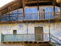 Altes baskisches Bauernhofhaus Lizenzfreies Stockfoto