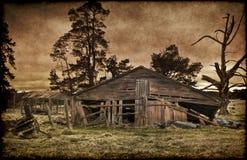 Altes Bauernhaus Lizenzfreies Stockfoto