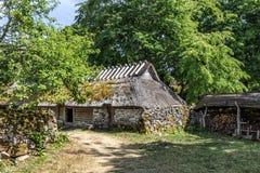 Altes Bauernhaus Lizenzfreie Stockfotos