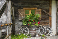 Altes Bauernhaus Stockbild