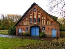 Altes Bauernhaus in Deutschland Lizenzfreie Stockfotografie