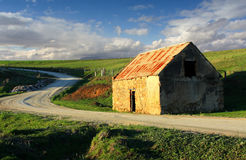 Altes Bauernhof-Bretterbude Lizenzfreie Stockfotografie