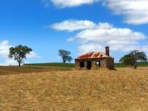 Altes Bauernhof-Haus stockbild