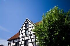 Altes Bauholzhaus   Stockfotos