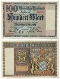 Altes bayerisches Geld Stockbilder