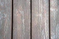 Altes behandeltes Holz Stockfoto