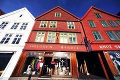Altes Bergen Stockfoto