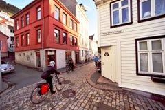 Altes Bergen Stockfotografie