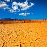 Altes Bergwerk Mazarron Murcia in Spanien Stockfotografie