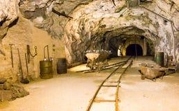 Altes Bergwerk Seegrotte Hinterbruhl nahe Wien, Österreich Lizenzfreies Stockbild