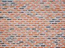Altes Beschaffenheits-Design Wand des Weinleseroten backsteins Leerer Hintergrund des roten Backsteins für Darstellungen und Webd Lizenzfreies Stockfoto