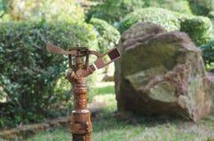 Altes Bewässerungssystem Lizenzfreies Stockfoto