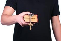 Altes Bibelkreuz Lizenzfreie Stockfotografie