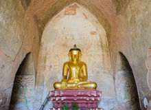 Altes Birmanebuddha-Bild Stockbild