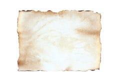 Altes Blattleeres papier Lizenzfreie Stockbilder