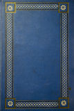 Altes blaues grunge Buch Stockfotografie